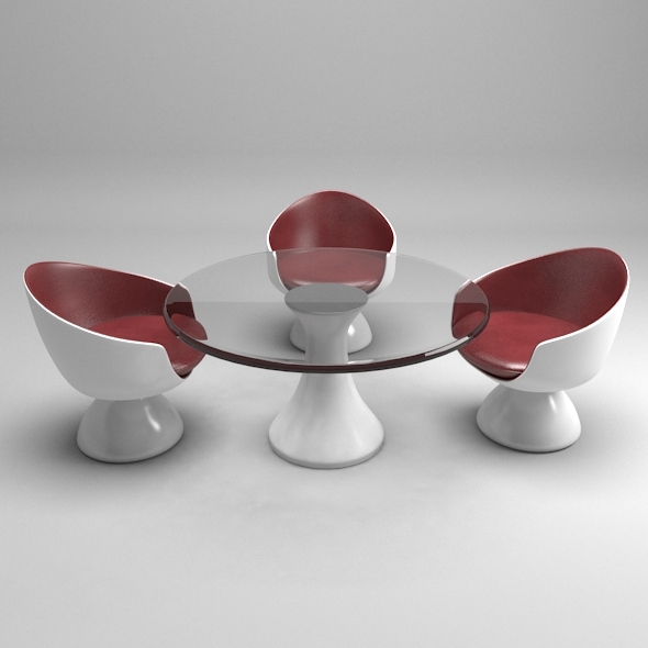 3DOcean Modern Table-Chair 11644237