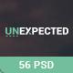 Unexpected Multipurpose PSD Template