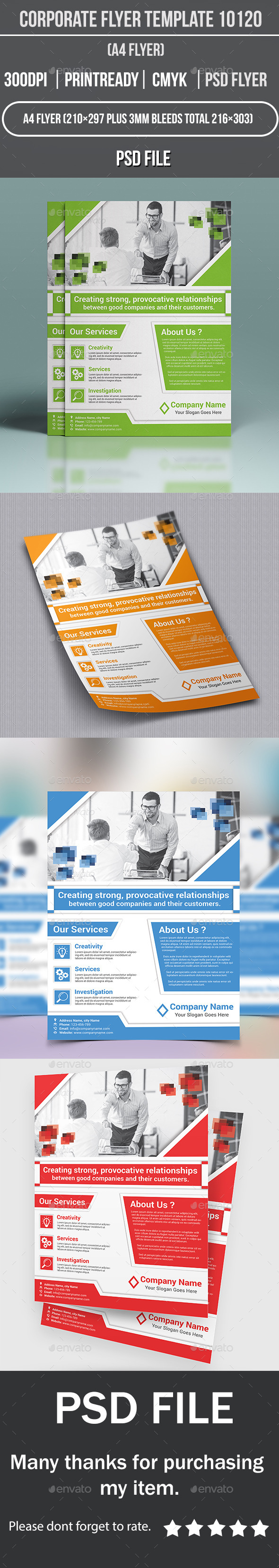 GraphicRiver Corporate Flyer Template 10120 11645124