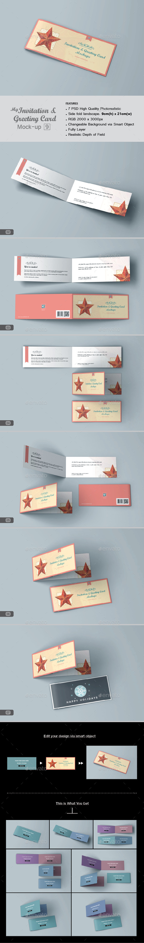 GraphicRiver myGreeting Card Mock-up v9 11645132
