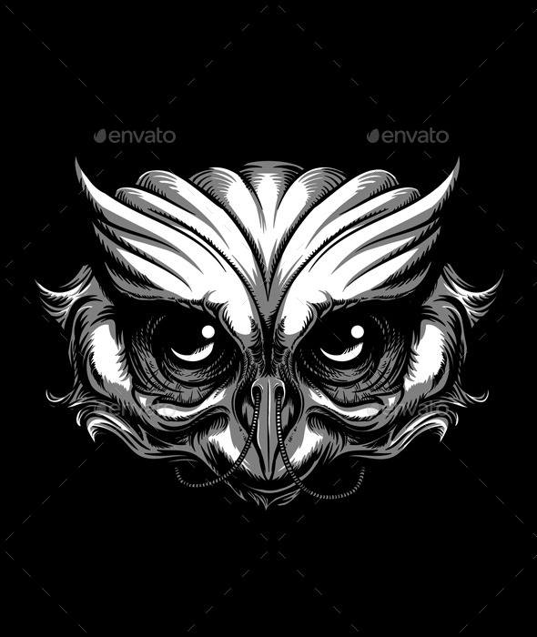 GraphicRiver Owl Tattoo 11645208