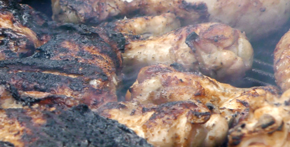 Chicken on Barbecue 1