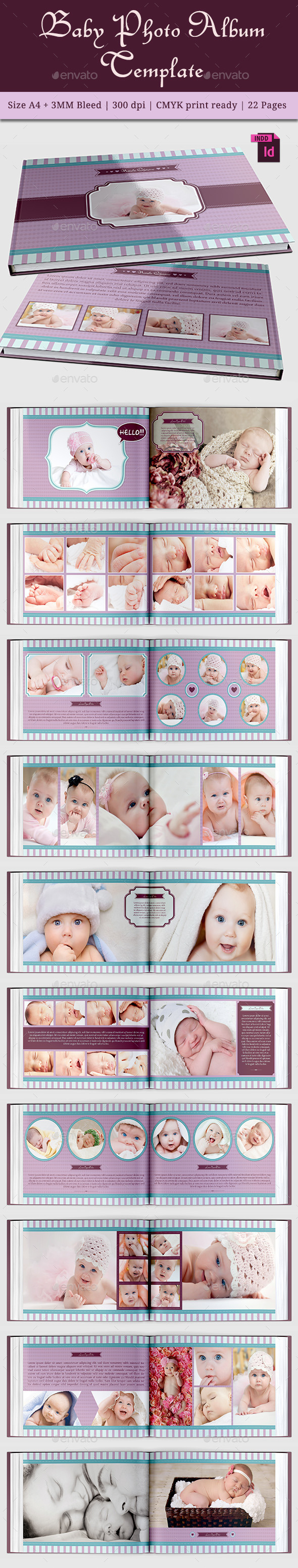 GraphicRiver Baby Photo Album Vol 2 11645997