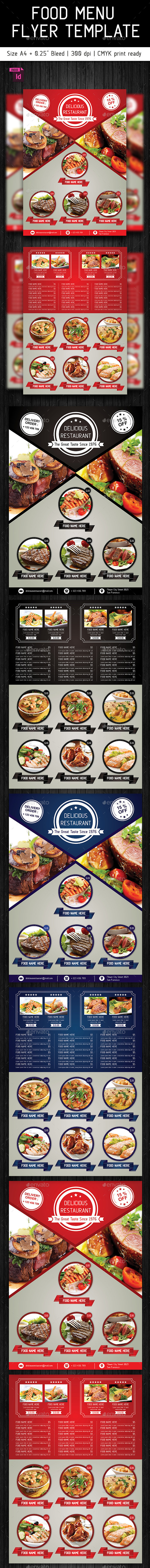 Food Flyer Template Vol. 2