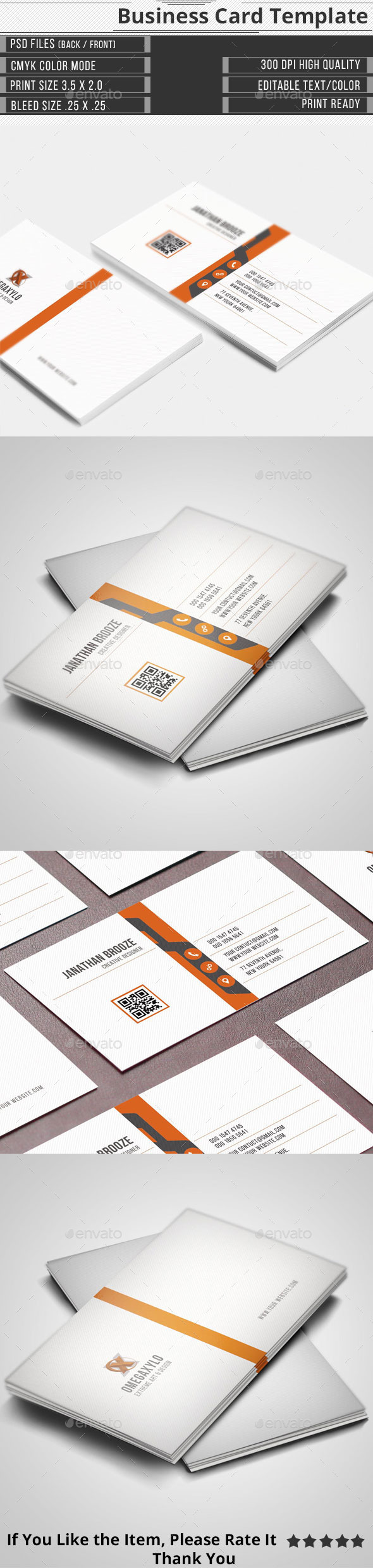 GraphicRiver Corporate Business Card 11646905