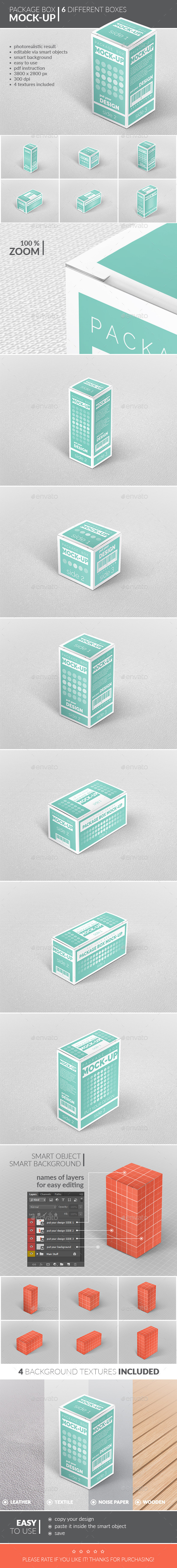 GraphicRiver Package Box Mock-Up 11646918