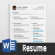 Resume III - GraphicRiver Item for Sale