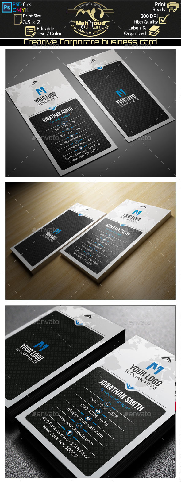 GraphicRiver Creative Corporate Business Card 11647578