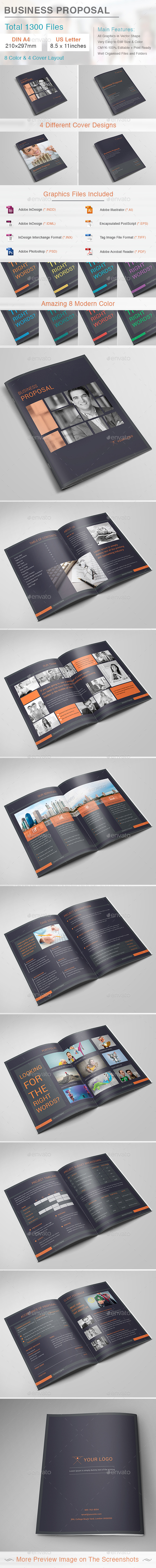 GraphicRiver Business Proposal 11647861
