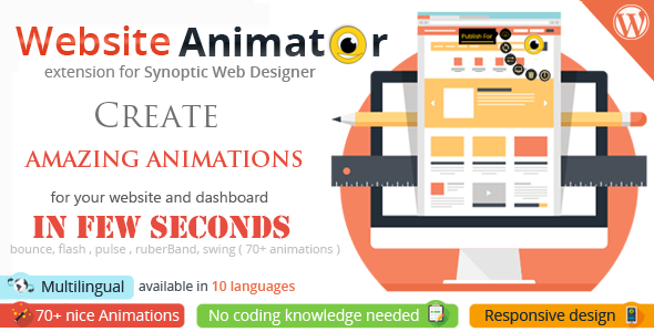 CodeCanyon Synoptic Web Designer Website Animator extension 11648399