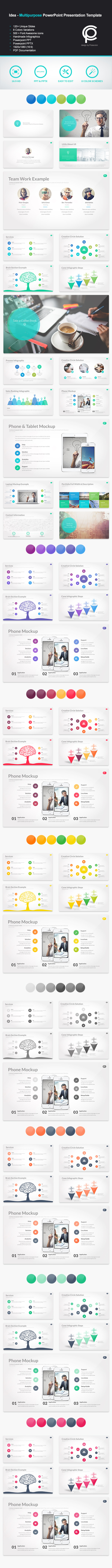 GraphicRiver Idea Multipurpose PowerPoint Presentation 11648605