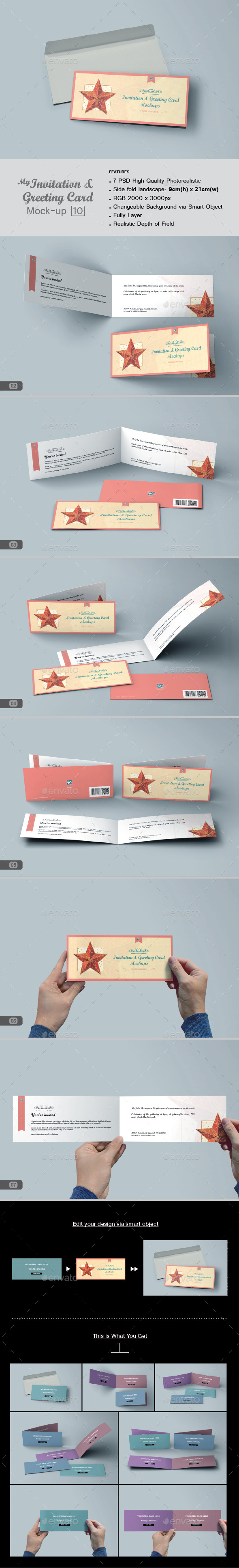 GraphicRiver myGreeting Card Mock-up v10 11648833