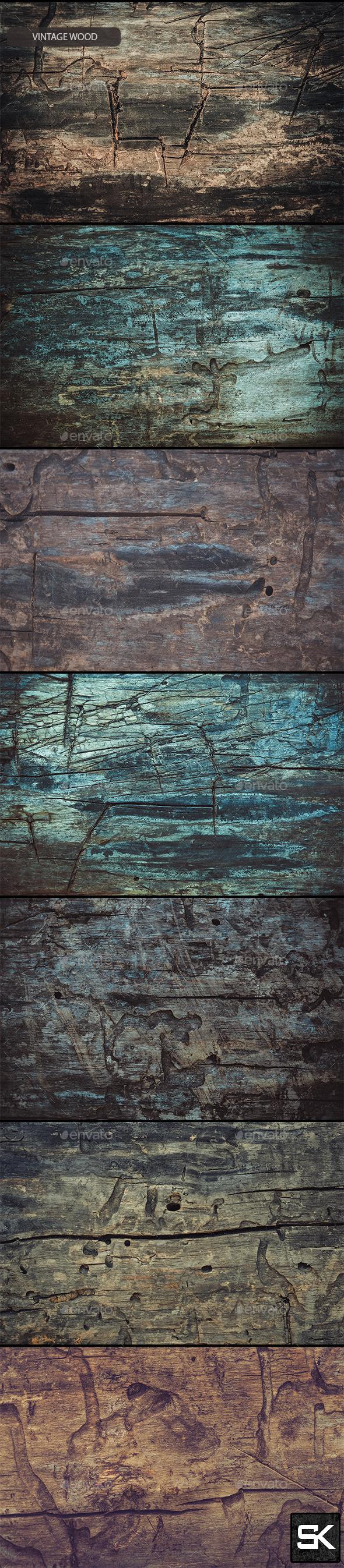 GraphicRiver Vintage Wood.4 11649225