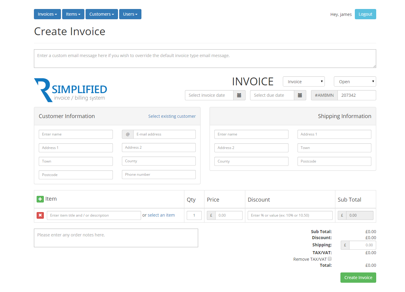 Opposenewapstandardsus  Personable Simplified Php Invoice  Billing System By Rebootdigitaluk  With Excellent  Createinvoicepng  With Adorable Invoice Sample Australia Also Proforma Invoice Template Free In Addition Invoice Format In Doc And Copy Of An Invoice Template As Well As Easy Invoice App Additionally Tax Invoice Template Nz From Codecanyonnet With Opposenewapstandardsus  Excellent Simplified Php Invoice  Billing System By Rebootdigitaluk  With Adorable  Createinvoicepng  And Personable Invoice Sample Australia Also Proforma Invoice Template Free In Addition Invoice Format In Doc From Codecanyonnet