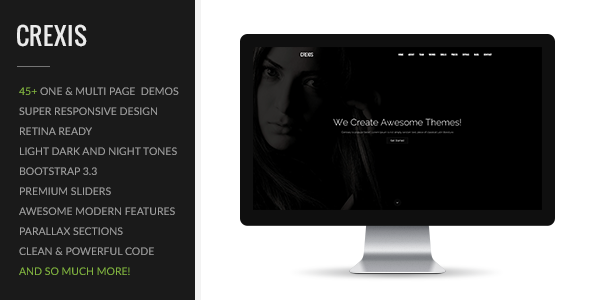 6. Crexis | Multi-Purpose One & Multi Page Theme