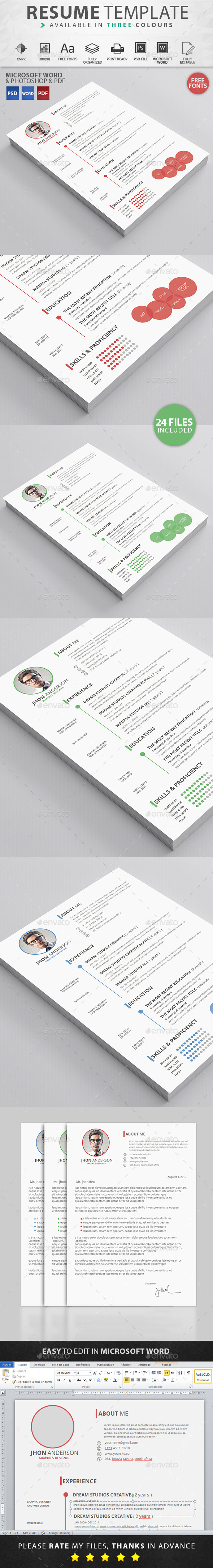 GraphicRiver Resume 11650608