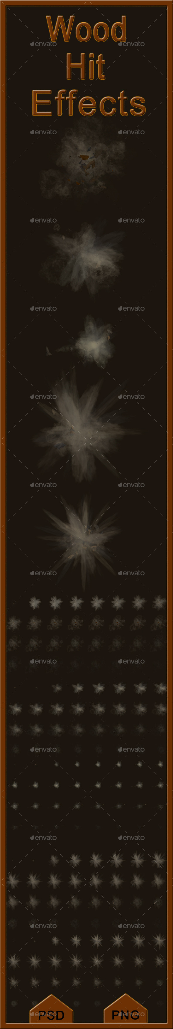 GraphicRiver Wood Hit Effects 11651502