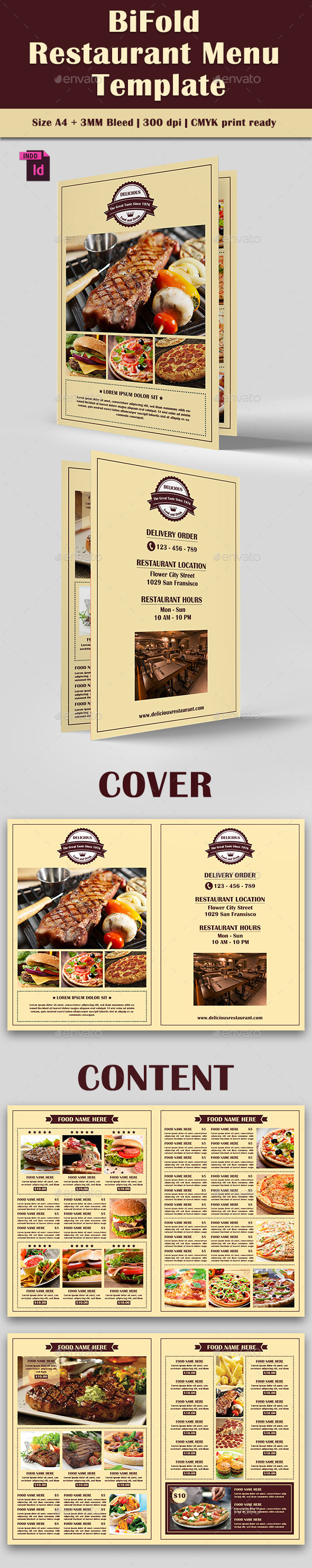 GraphicRiver BiFold Restaurant Menu Vol 7 11651639