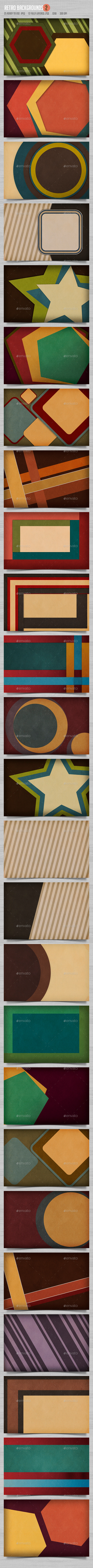 GraphicRiver Retro Backgrounds 2 11652230