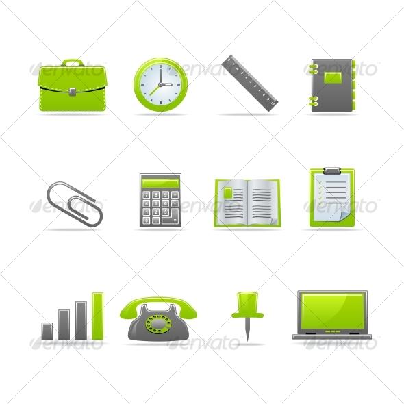GraphicRiver Glossy icon set 2 47320