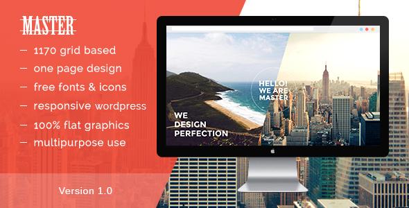 Master - Onepage Portfolio Theme - Portfolio Creative
