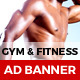 Fitness - GWD Ad Banners