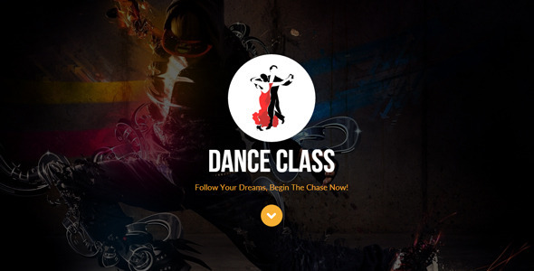 ThemeForest Dance Class Muse Template 11653641