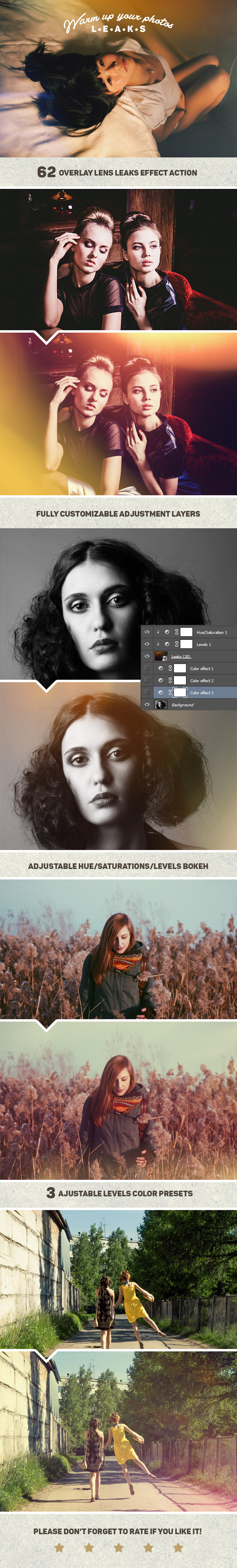 GraphicRiver Lens Leaks Photo Warmer Actions 11653976