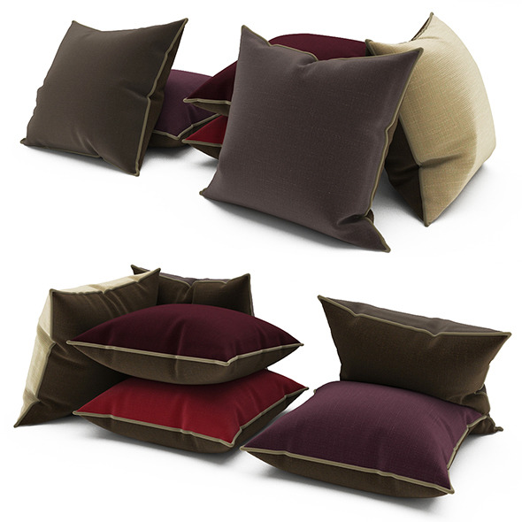 3DOcean Pillows 69 11654083