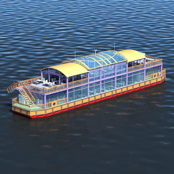 3DOcean Floating Restaurant 11654545