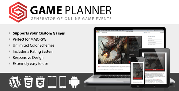 CodeCanyon Game Planner 11656132