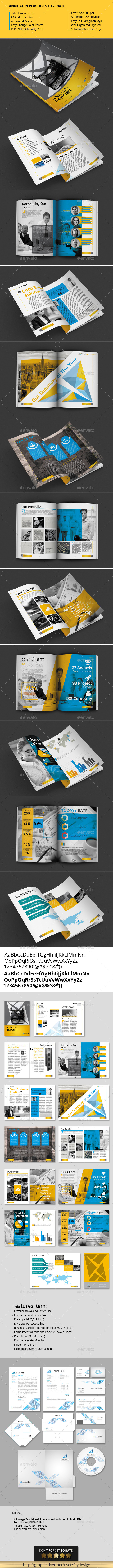 GraphicRiver Annual Report Identity Pack 11585131