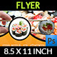 Sushi Restaurant Flyer - GraphicRiver Item for Sale