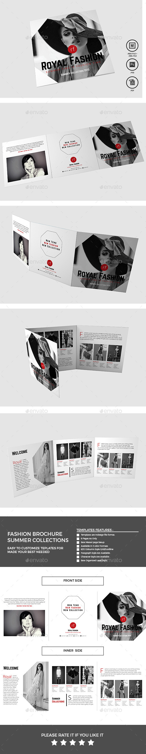 GraphicRiver Fashion Brochure 11630065