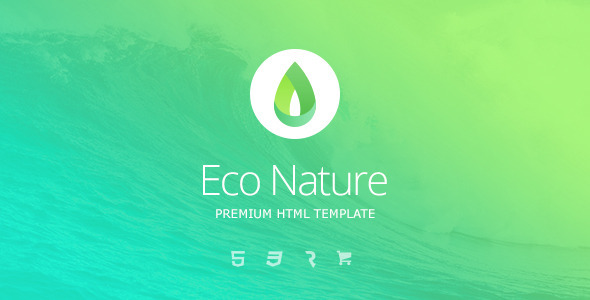 ThemeForest Eco Nature Environment & Ecology HTML5 Template 11656881