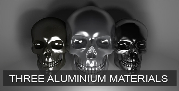 Aluminium VRay Material - 3DOcean Item for Sale