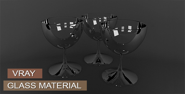 3DOcean Glass Material VRay 11657264