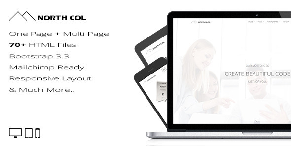 ThemeForest North Col Multipurpose Template 11583750