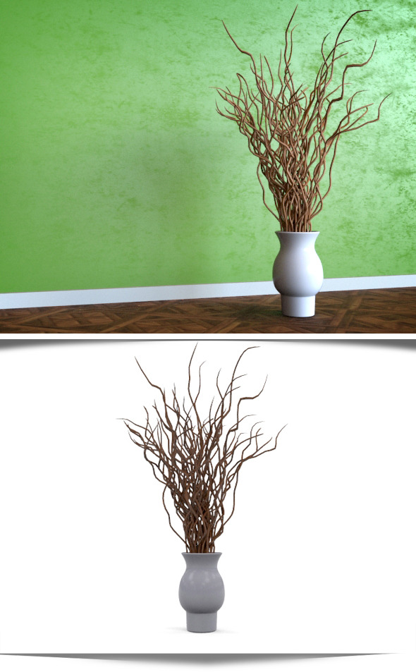 3DOcean Tree Branch Decor 11658569