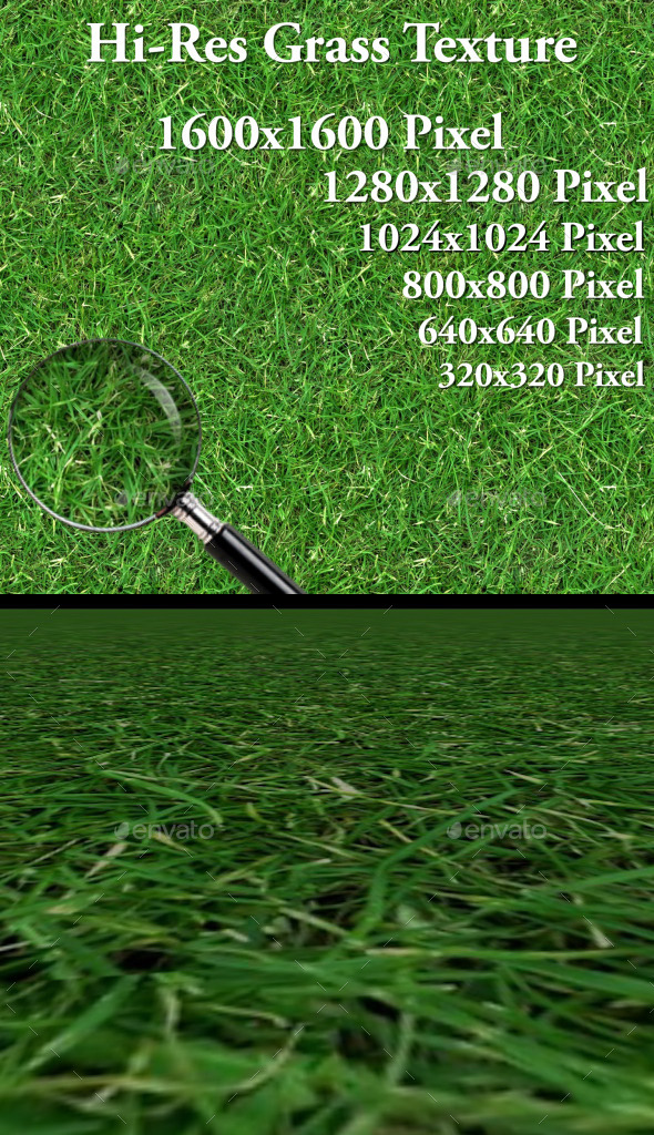 Hi-Res Grass Texture - 3DOcean Item for Sale
