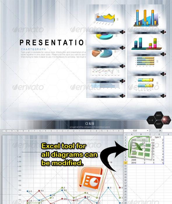 GraphicRiver Excel diagrams 143332