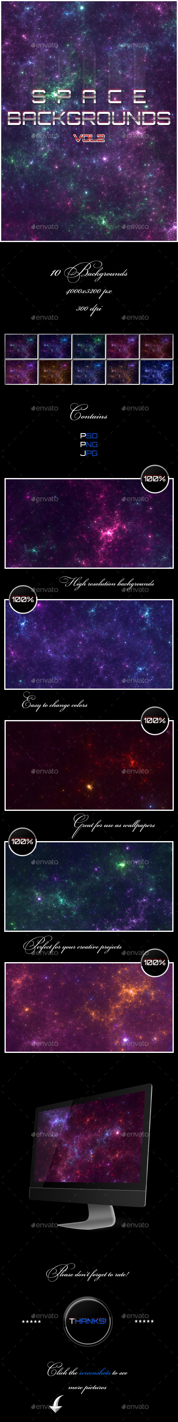 GraphicRiver Space Backgrounds Vol2 11643952