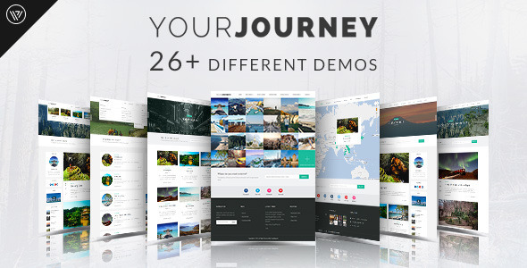 Your journey - Travel Blog WordPress Theme