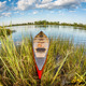 canoe in fish eye lens perspectrive - PhotoDune Item for Sale