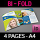 Dental Clinic Bi-Fold Brochure Template - GraphicRiver Item for Sale