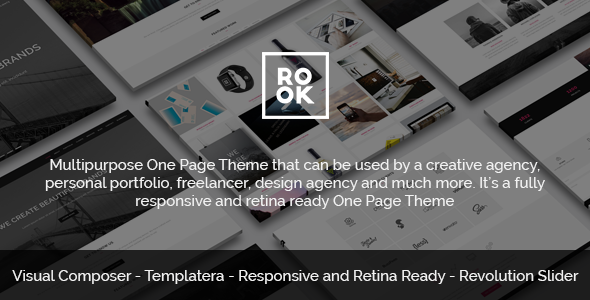 ThemeForest ROOK Multipurpose Onepage Retina Theme 11498044