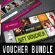 3 in 1 Beauty and Spa Gift Voucher Bundle 04 - GraphicRiver Item for Sale