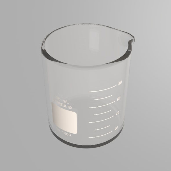 Scientific Beaker - 3DOcean Item for Sale