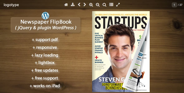 CodeCanyon Newspaper Flipbook jQuery&pluginWP 11668291