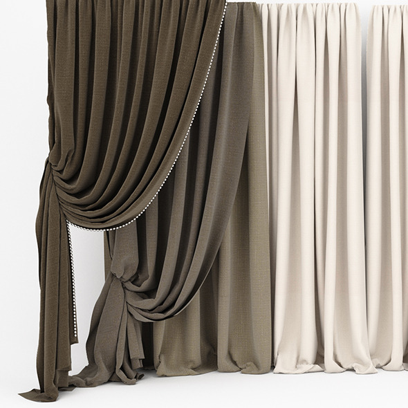 3DOcean Curtain collection 06 11668539